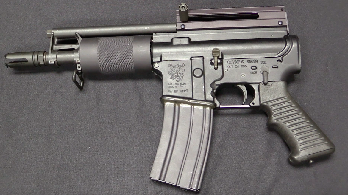 Olympic Oa96 Pistol A Loophole In The Assault Weapons Ban